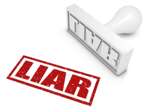 Liar!